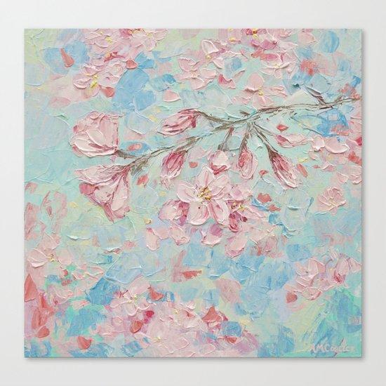 Yoshino Cherry Blossoms No. 2 Canvas Print