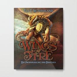 Wings of Fire 1 Metal Print