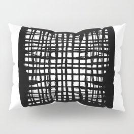 black and white screen Pillow Sham