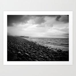 storm sea Art Print
