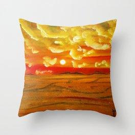 EL DESIERTO EN MEXICO Throw Pillow