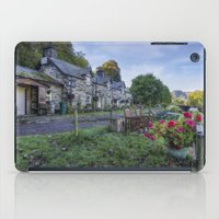cafe iPad Cases featuring Lakeside Cafe by Ian Mitchell