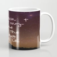 twilight Mugs featuring Twilight by Monika Strigel
