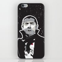dracula iPhone & iPod Skins featuring Dracula by Matt Fontaine