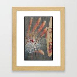 GUN LAW Framed Art Print