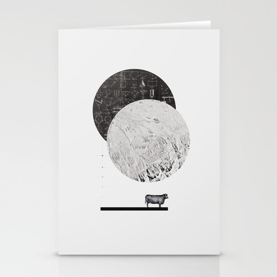 Calculating a Jump over the Moon Stationery Cards