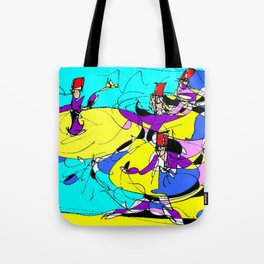 Dervishes    by Kay Lipton Tote Bag