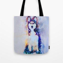 Tika'ani our Siberian Husky Tote Bag