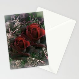 PASSIONATE ROSES Stationery Cards