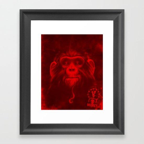 Twelfth Monkey Framed Art Print