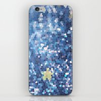 night sky iPhone & iPod Skins featuring Night Sky by Elizabeth