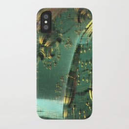 Cannon Battery (Crosshatch Explosion) iPhone Case
