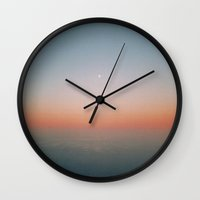 rothko Wall Clocks featuring hello rothko by Richard PJ Lambert