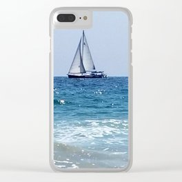 Sailing Away in the Pacific Clear iPhone Case