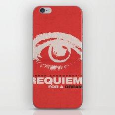 Requiem For  A Dream iPhone & iPod Skin