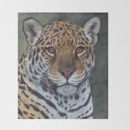 JAGUAR Throw Blanket