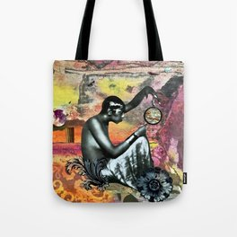 She Asked Tote Bag