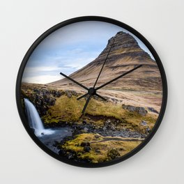 KIRKJUFELL-iceland Wall Clock
