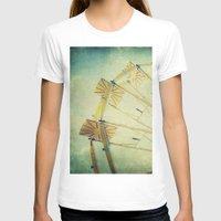 glee T-shirts featuring Ferris Wheel by Honey Malek