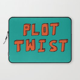 Plot Twist Laptop Sleeve