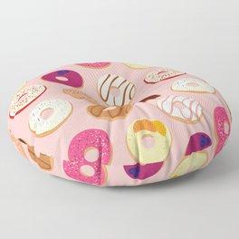 Weekend Donut Run Floor Pillow