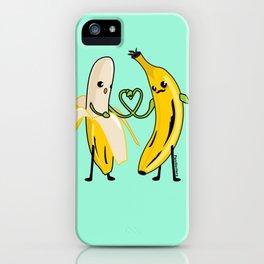 Love between men iPhone Case