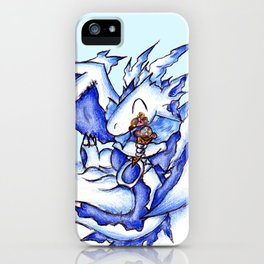 Ice Dragon Ice Cream Bliss iPhone Case