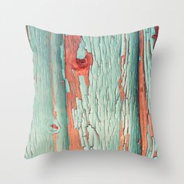 Old Wood 08 Throw Pillow