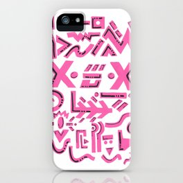 Pink charm iPhone Case