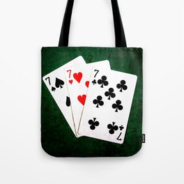 Blackjack Twenty One Tote Bag