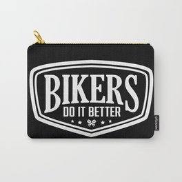 BIKERS DO IT BETTER SHIELD Carry-All Pouch