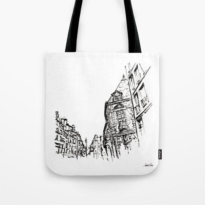 Urban Inkscape 5 Paris Tote Bag