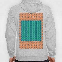 Bohemian Ethnic Mosaic Pattern Hoody