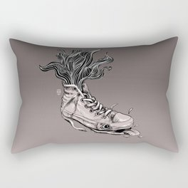 Tired Sneaker Rectangular Pillow