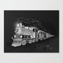 A nostalgic train Canvas Print