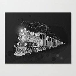 A nostalgic train Canvas Print