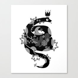 A witch companion Canvas Print