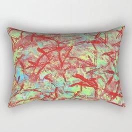Flamingo Tracks Rectangular Pillow