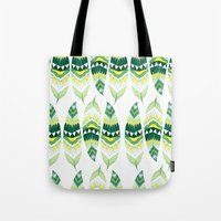 indiana Tote Bags featuring Eerie Indiana  by Animaux Circus
