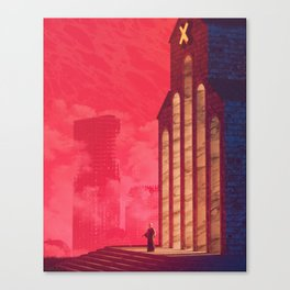 Neon Cult Canvas Print