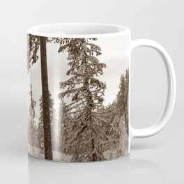 Winter Morning Sepia Coffee Mug