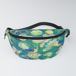 Blue Jays and Magnolias Fanny Pack