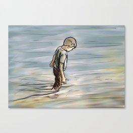 Upstream Canvas Print
