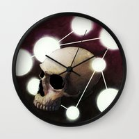 alchemy Wall Clocks featuring Alchemy by Fabrice Gagos