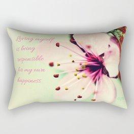 Love Yourself My Happiness Rectangular Pillow