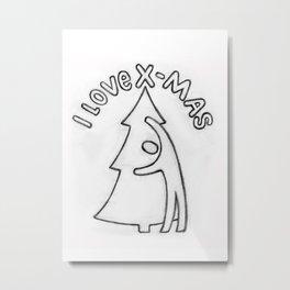 Love Christmas! Metal Print