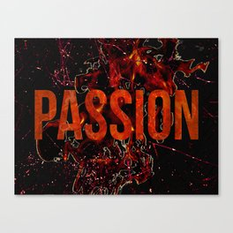 Passion and Lust Canvas Print