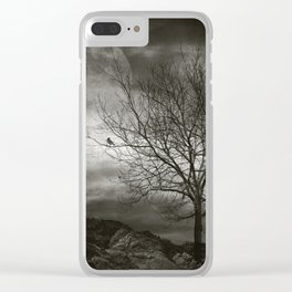 February Tree Clear iPhone Case