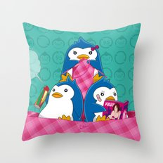 1-2-3 / We are Family! Throw Pillow