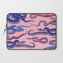 pink snakes Laptop Sleeve